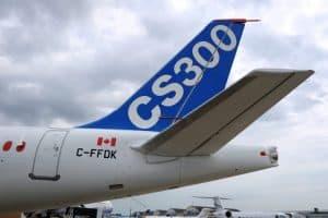 Bombardier's fuel-efficient C-series midrange plane
